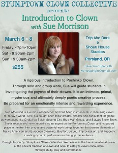 Introduction to Clown with Sue Morrison